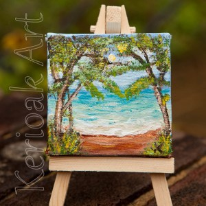 Tropical Sea miniature painting