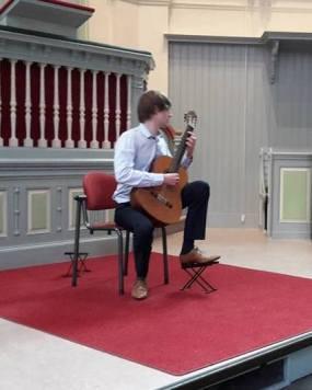 Andrew Booth, gitaar 021016