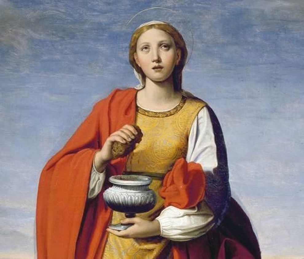 """Santa Prassede"" di Antonio Carracci"