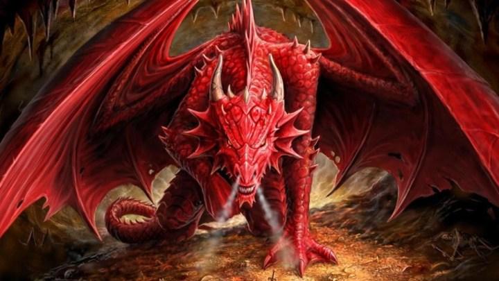 Hellkite Dragon (Red Dragon) (Darksouls)