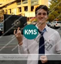 Kyle graduates