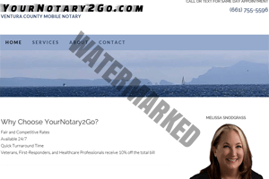YourNotary2Go.com - site by KerriMarvelServices.com