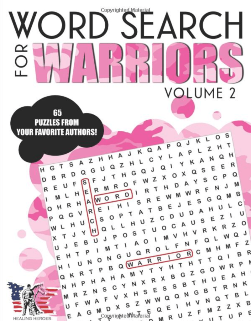 Word Search for Warriors Vol 2
