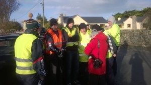 Volunteers at the Jimmy Duffy