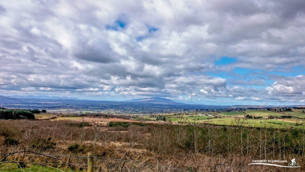 The view of Sliabh Luachra from Mount Eagle
