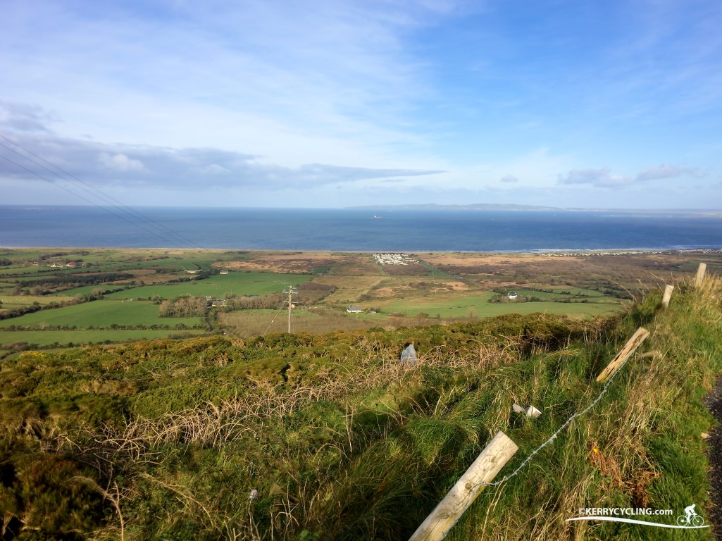 Lacey Cup Route - Overlooking Tralee Bay