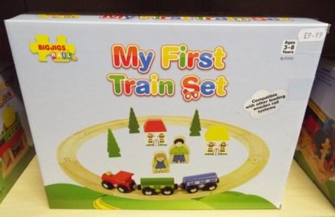 22 My First train set