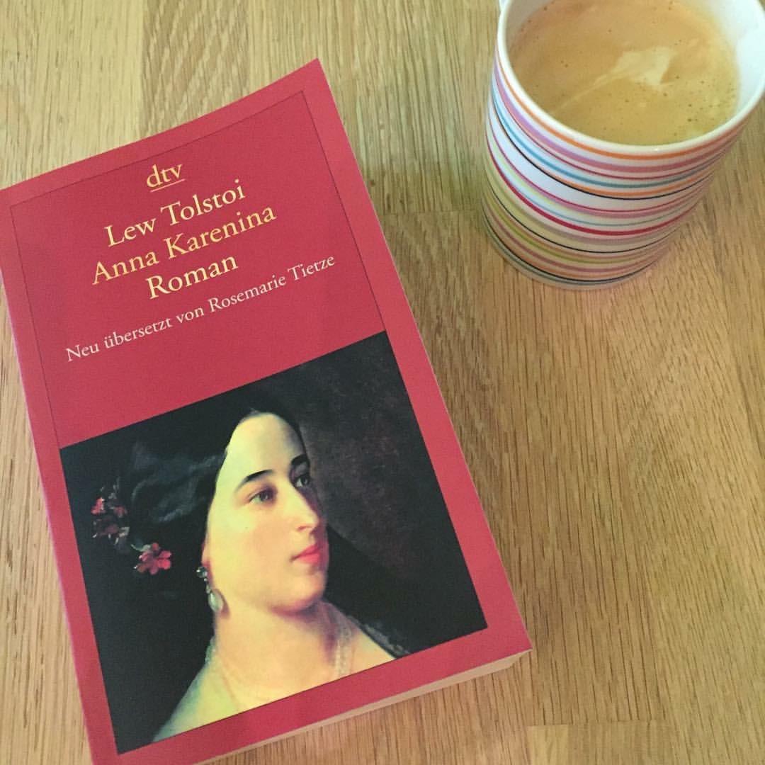 Ein leicht größenwahnsinniges Buchprojekt: Kerstin liest Tolstoi