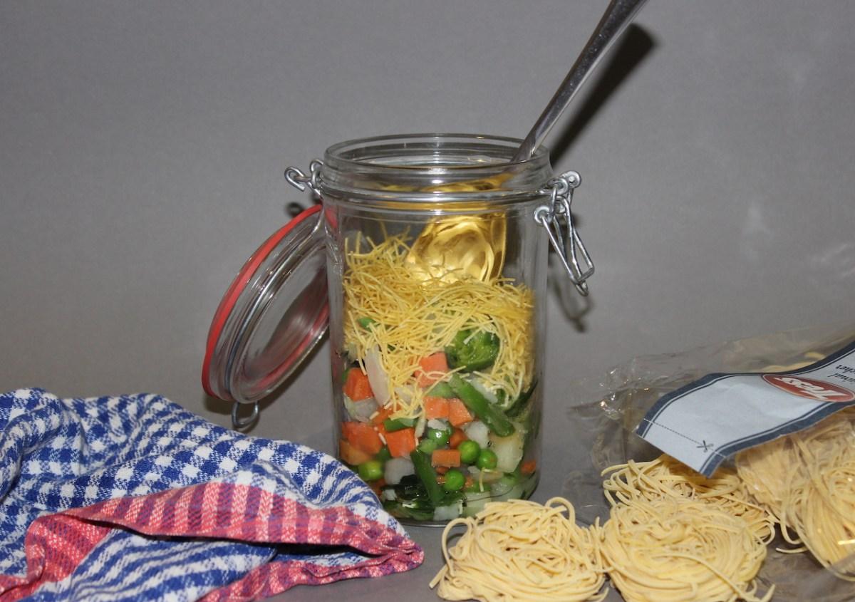 Suppenkaspereien - 4 leckere DIY-Instant-Suppen to go