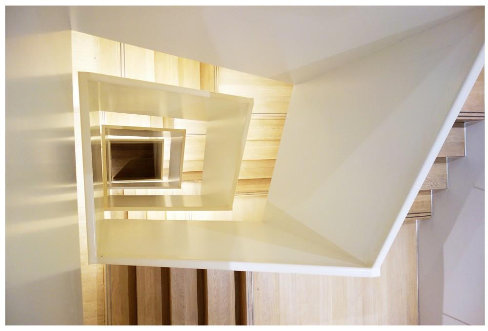 Lenbachhaus München - Architekturdokumentation Treppenhaus