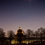 Fotografie in der Dämmerung und Nachtfotografie - Staatskanzlei