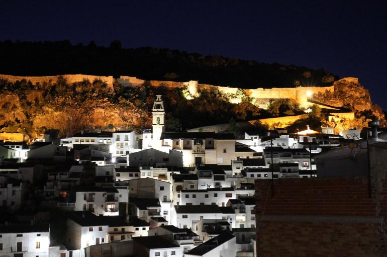Chulilla in der blauen Stunde | Kletterfotografie