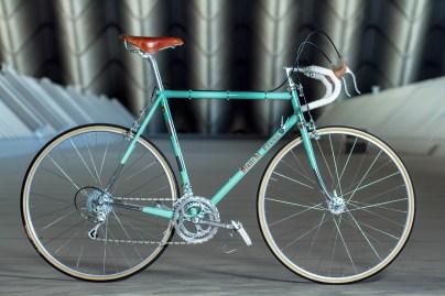 Bianchi Stahlrennrad | Rennradfotografie