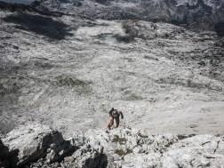 Nette Kraxelei - so macht leichtes Gepäck besonders Spaß - Schönfeldspitze