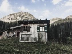 Notlager - 2-Betten-Hütte auf der Wasseralm