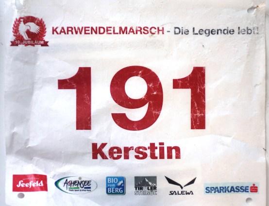 10. Jubliläum Karwendelmarsch