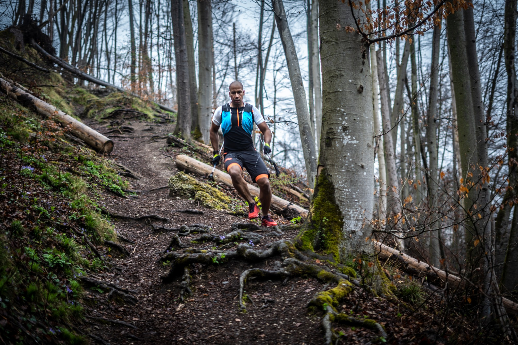 Leo im Trail Trailrunning Shooting