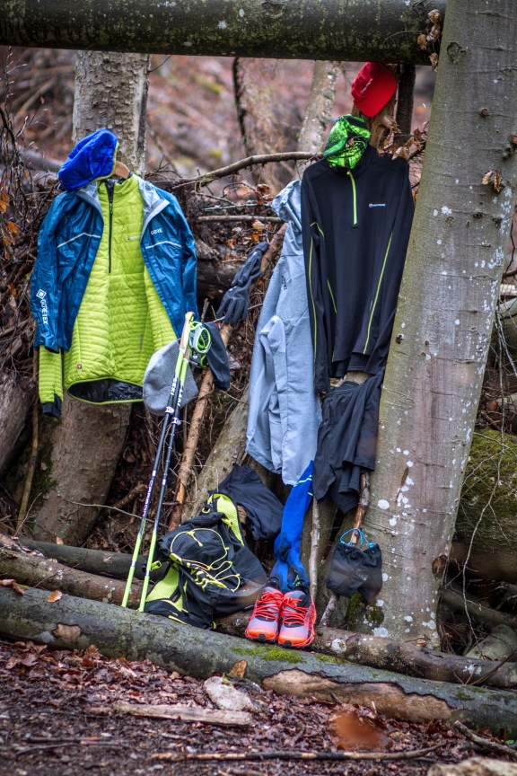 Trail running Outfit outdoor Shooting
