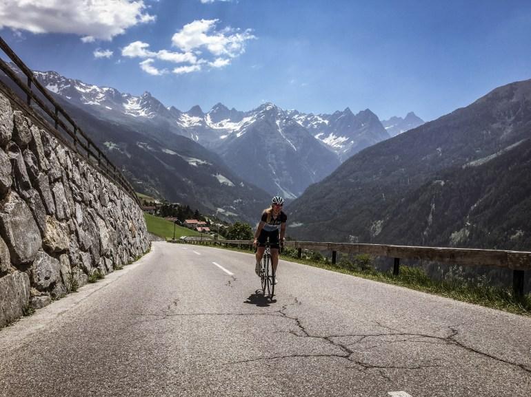 Kaunertaler Gletscherstraße - mit dem Rennrad auf 2765m