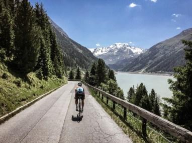 Kaunertaler Gletscherstraße mit dem Rennrad