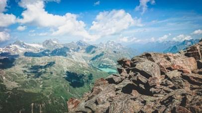 Der höchste Punkt des P45 Glacier: die Mittagskogelscharte auf 3070m üNN Foto: Öf Haglöfsson