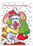 Kerst tekst humor voor op een kaartje