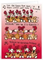 Kerst tekst voor personeel voor op een kaartje