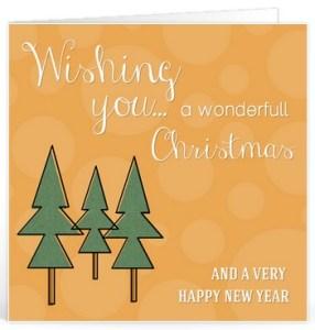 Kerstwensen teksten voor op een kaartje
