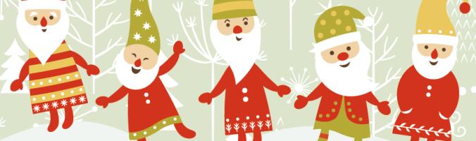 Wichtelmannetjes - deze kaboutertjes brengen liefde en vreugde in het kerstseizoen