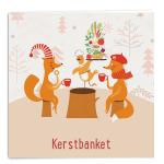 Kleintje Kerstspel - Kerstbanket spelkaart