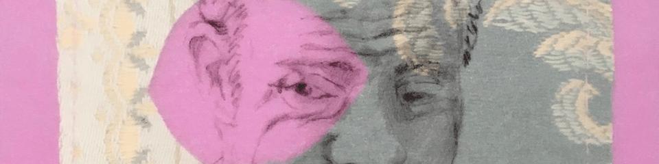 Detail uit Portret van een man met Down van Beatrijs Wind