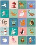 Welk dier ben ik - kerstspelletje