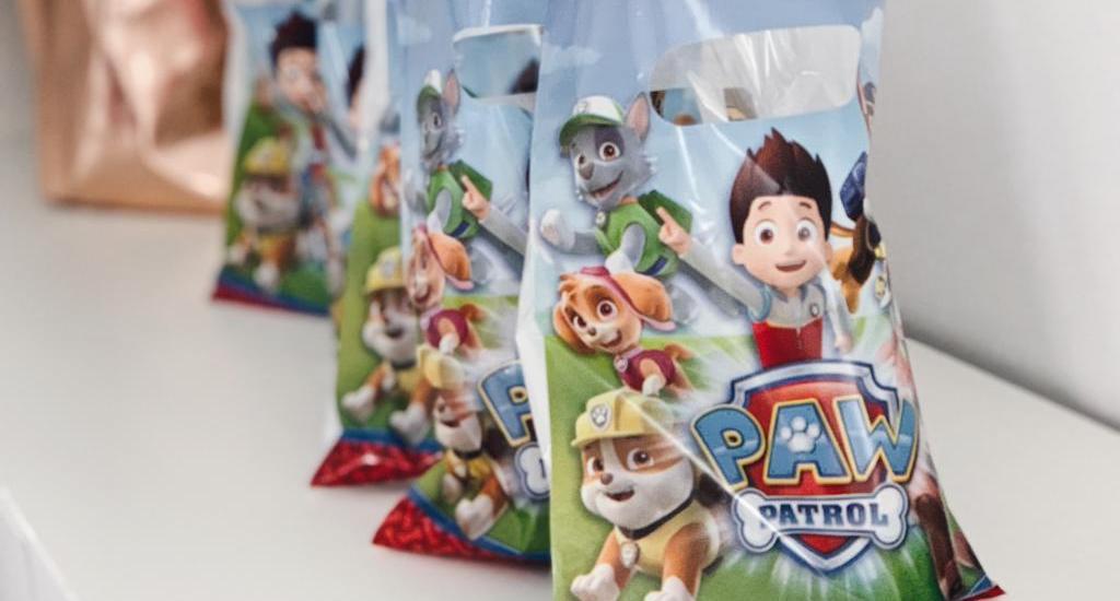 Kindergeburtstag - Paw Patrol Geburtstagsfeier, Party für Kinder, Mottoparty - Gastgeschenke
