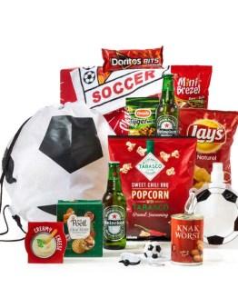 Voetballen kerstpakket