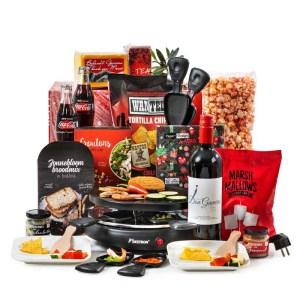 Familie Raclette kerstpakket
