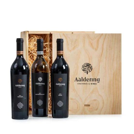 Aaldering Trio wijngeschenk