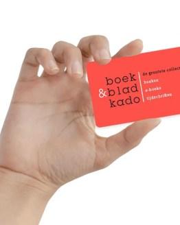 Boek & Bladkado 60 euro