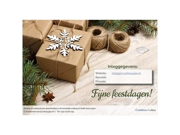 Cadeau4Jou e-mail