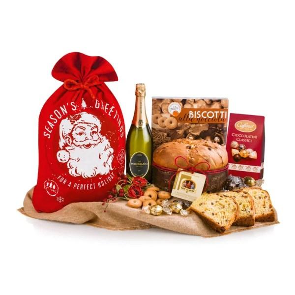 Santa Claus Panettone Kerstpakket