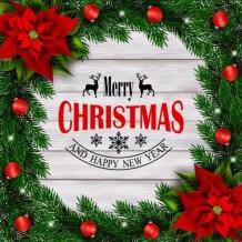 Zakelijke kerst tekst