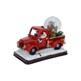 kerstman-pick-up-truck