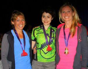 """""""Cesur yürek"""" kadınları. 1. Monica (sağda) İsveçli, 3. Janet İngiliz."""