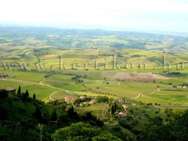 Montalcino vidéke