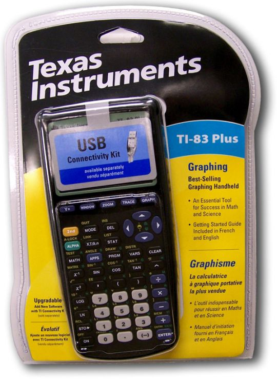 Hand-Held Graphing Calculator