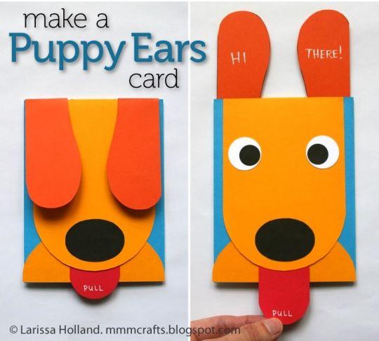 Kartu Ucapan Pop Up Berbentuk Anjing Tutorial Lain Lain