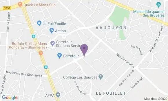 banque postale agence de le mans vauguyon