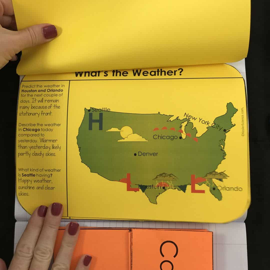 Weather Maps And Air Pressure 5e Lesson