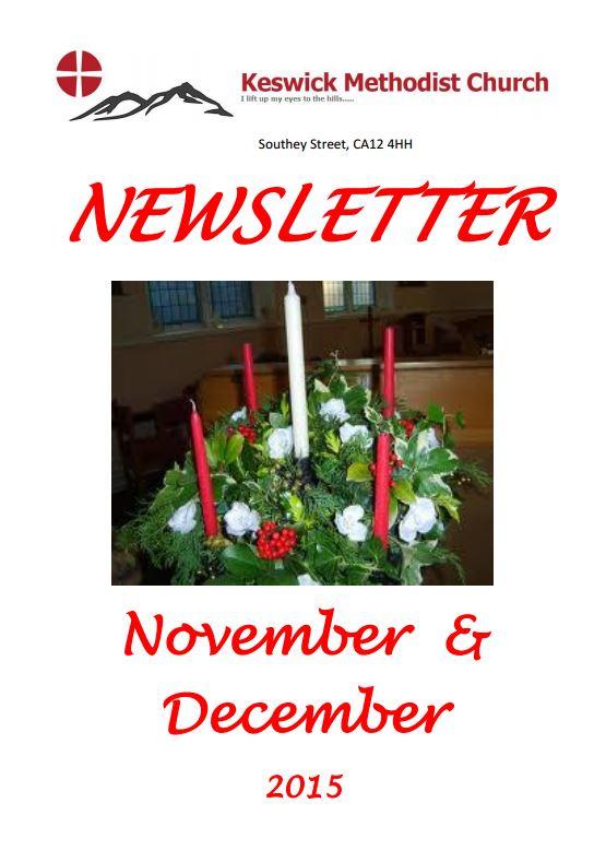 Nov 2015 newsletter cover