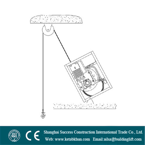 Electric Lifting Winches Cradle Gondola Window Cleaning