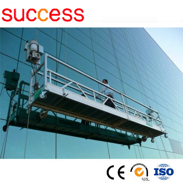 Success zlp series suspended platform cradle scaffolding for Swing stage motors sale